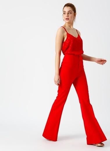 Random Pantolon Kırmızı